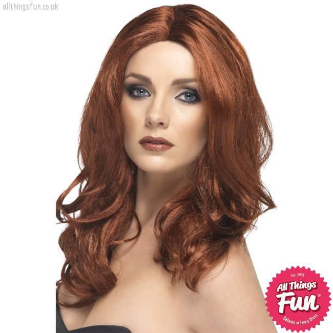 Smiffys Auburn Superstar Wig