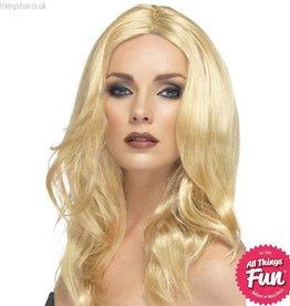 Smiffys Blonde Superstar Wig