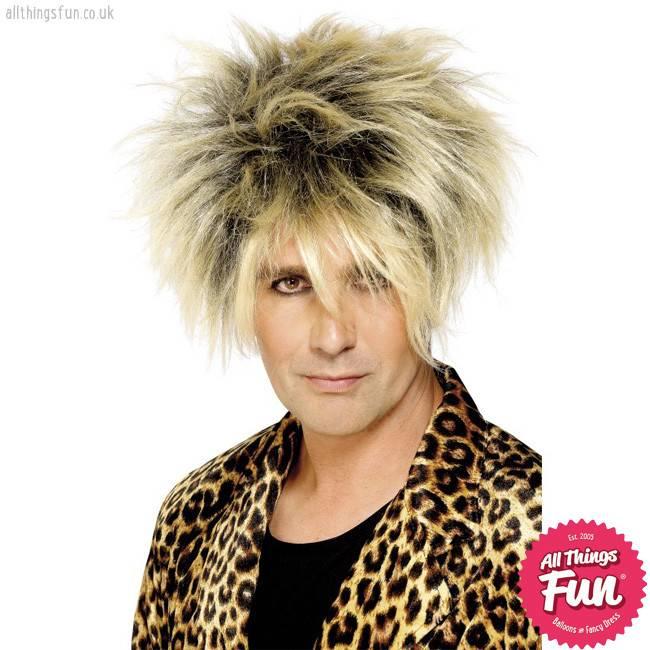 Smiffys Blonde Wild Boy Wig