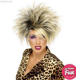 Smiffys Blonde Wild Girl Wig