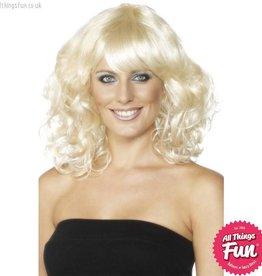 Smiffys Blonde Foxy Wig