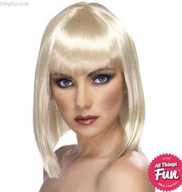 Smiffys Blonde Glam Wig