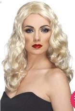 Smiffys Blonde Glamorous Wig