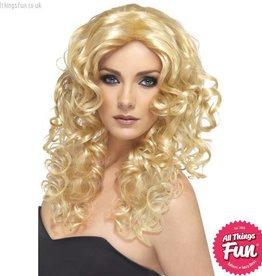 Smiffys Blonde Glamour Wig
