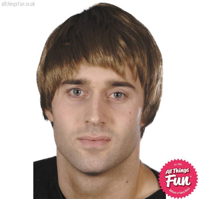 Smiffys Brown Guy Wig
