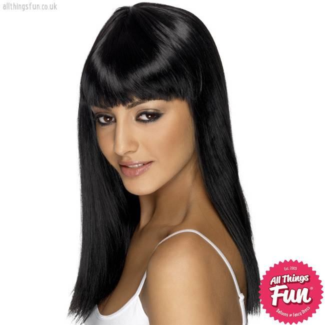Smiffys Black Glamourama Wig