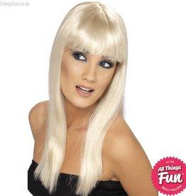 Smiffys Blonde Glamourama Wig