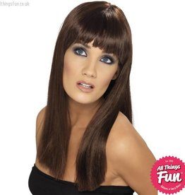 Smiffys Brown Glamourama Wig