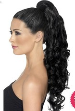 Smiffys Black Curly Divinity Hair Extension