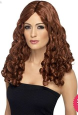 Smiffys *DISC* Auburn Film Star Wig