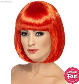 Smiffys Red Partyrama Wig