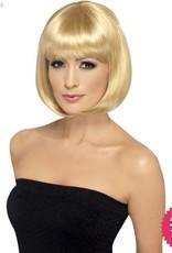 Smiffys Dark Blonde Partyrama Wig