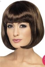 Smiffys Brown Partyrama Wig
