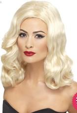 Smiffys 20's Blonde Luscious Long Wig