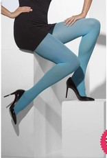 Smiffys Blue Opaque Tights