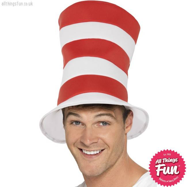 Smiffys *DISC* Cat In The Hat - Adult Hat