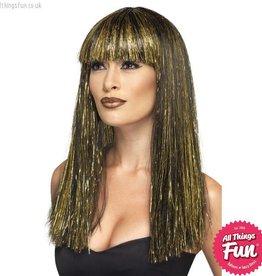 Smiffys Egyptian Black Goddess Wig