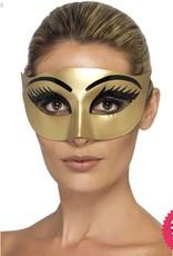Smiffys *SP* Evil Cleopatra Gold Eyemask