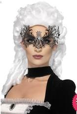 Smiffys Black Widow Web Metal Eyemask