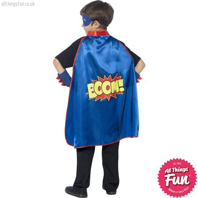 Smiffys Blue Super Hero Kit