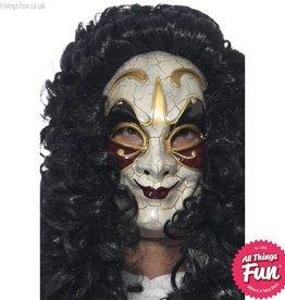 Smiffys Venetian Masked Highwayman Mask