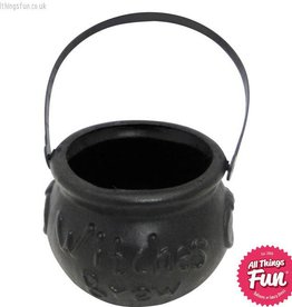 Smiffys Small Black Witches Brew Cauldron