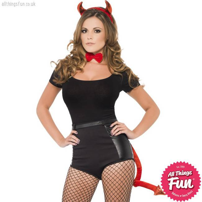 Smiffys Red Devil Set