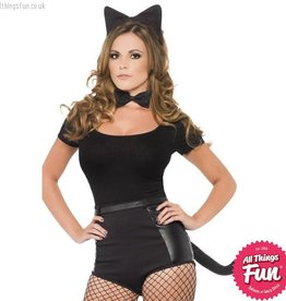 Smiffys Black Cat Set
