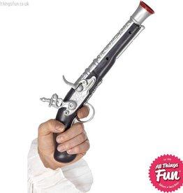Smiffys Silver Pirate Pistol