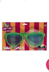 Smiffys Bright Coloured Giant Sunglasses