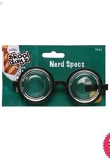 Smiffys Black Nerd Glasses