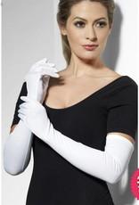 Smiffys Long White Gloves