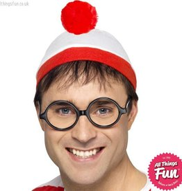 Smiffys Where's Wally? Adult Instant Kit