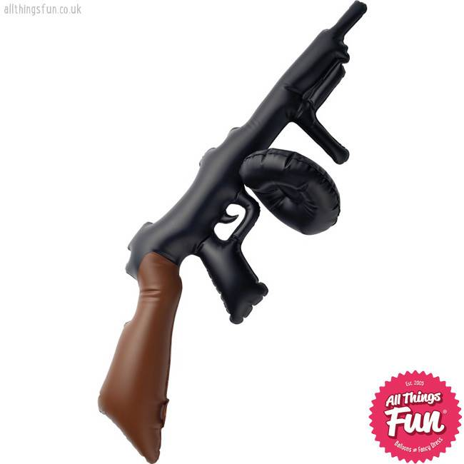 Smiffys Inflatable Tommy Gun