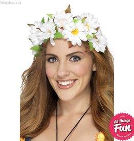 Smiffys Daisy Floral Headband
