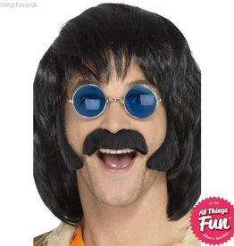 Smiffys Hippie Black Disguise Set