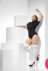 Smiffys Extra Large White Opaque Hold Ups