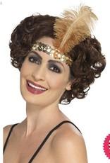 Smiffys Flapper Gold Headband