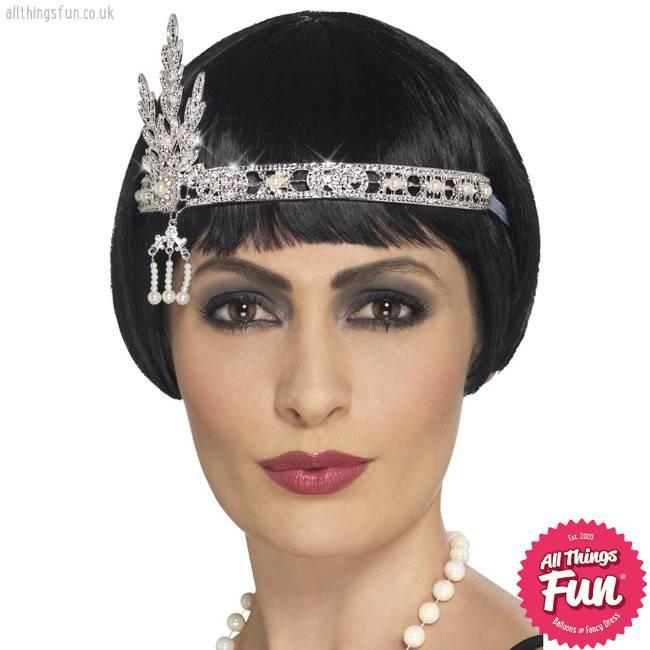 Smiffys Flapper Jewel Headband
