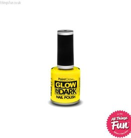 PaintGlow Glow in the Dark Yellow Nail Polish