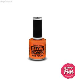 PaintGlow Glow in the Dark Orange Nail Polish