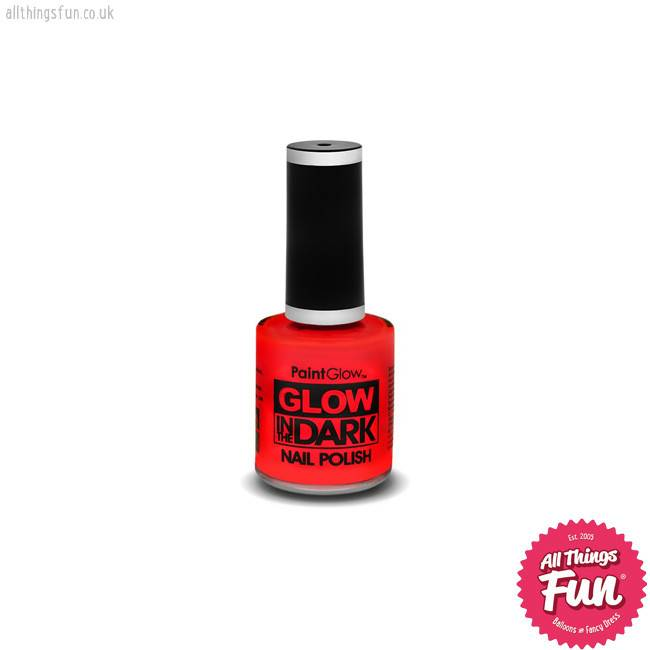 PaintGlow Glow in the Dark Red Nail Polish