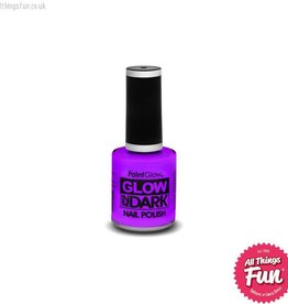 PaintGlow *DISC* Glow in the Dark Violet Nail Polish