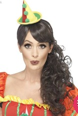 Smiffys Multi Coloured Cute Clown Hat