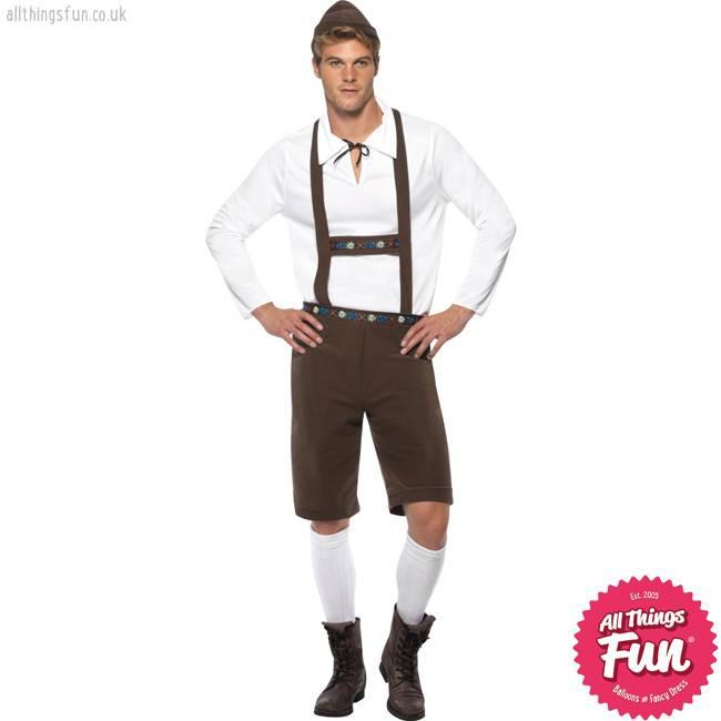 Smiffys Bavarian Man Costume