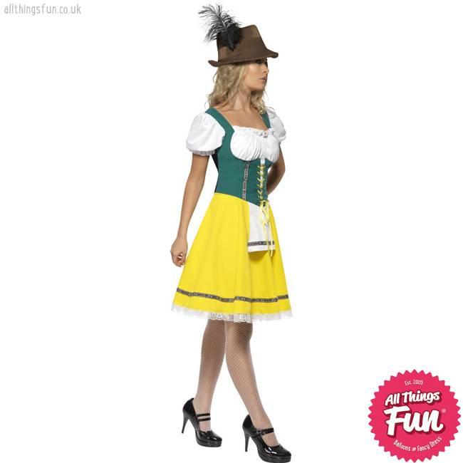Smiffys Female Oktoberfest Costume
