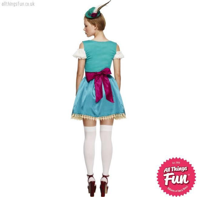 Smiffys *DISC* Fever Deluxe Dirndl Costume