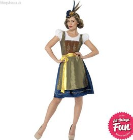 Smiffys Traditional Deluxe Heidi Bavarian costume