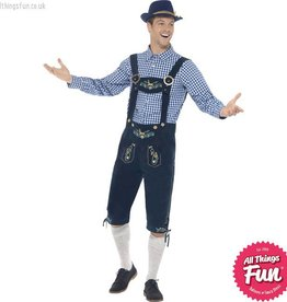 Smiffys *Star Buy* Traditional Deluxe Rutger Bavarian Costume