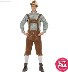 Smiffys *Star Buy* Traditional Deluxe Hanz Bavarian Costume